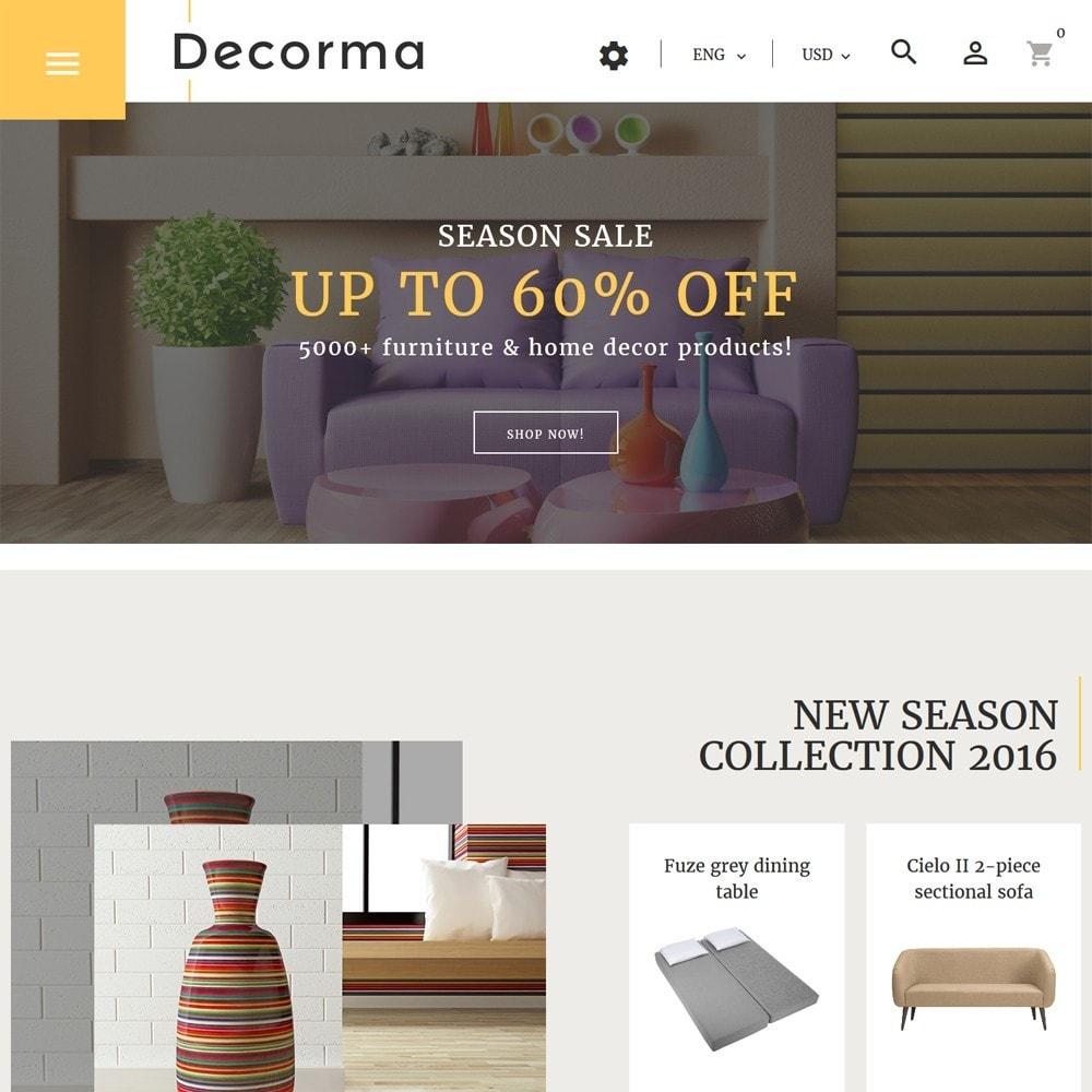 theme - Arte y Cultura - Decorma - para Sitio de Muebles - 2