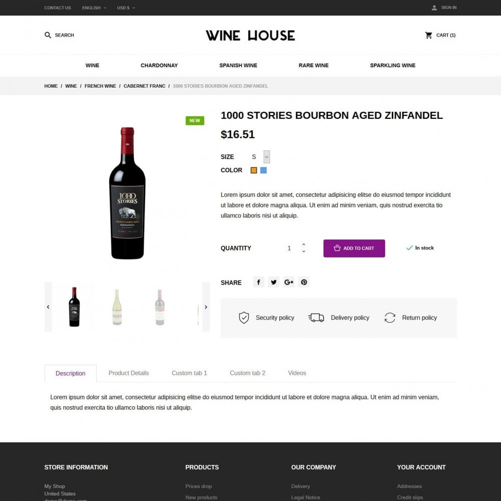 theme - Drink & Wine - Wine House Shop - 6