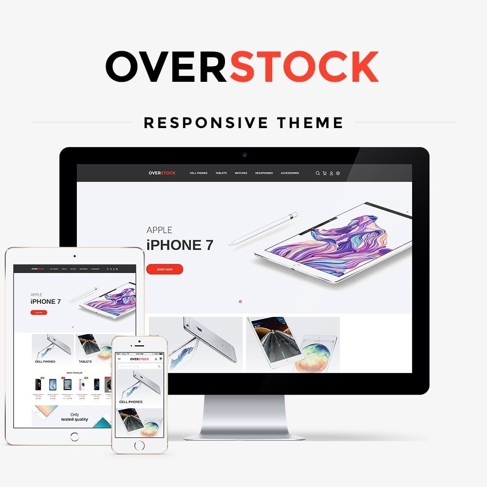 theme - Электроника и компьютеры - Overstock - High-tech Shop - 1