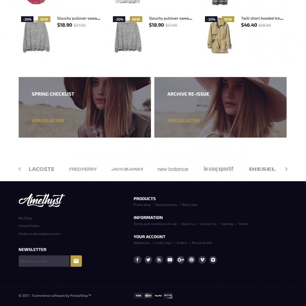 theme - Moda & Calzature - Amethyst Fashion Store - 4