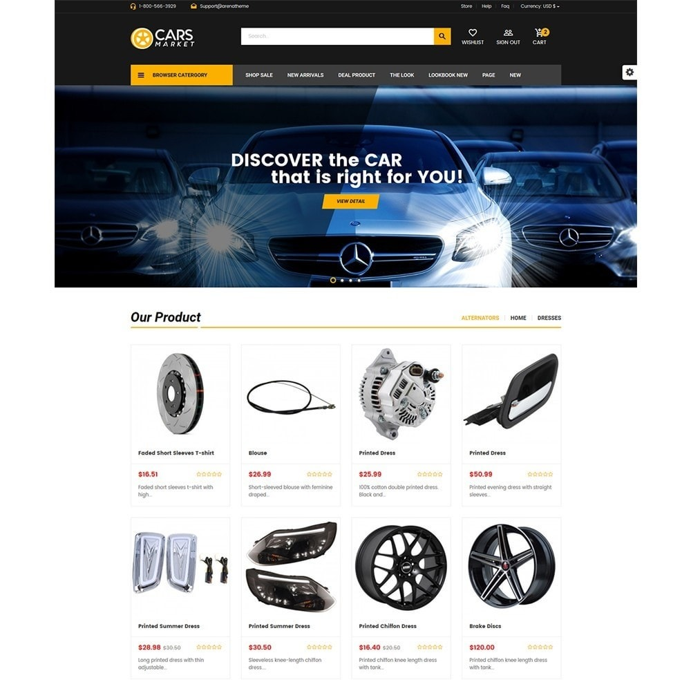 theme - Auto & Moto - Carpart Automobile Stores - 2