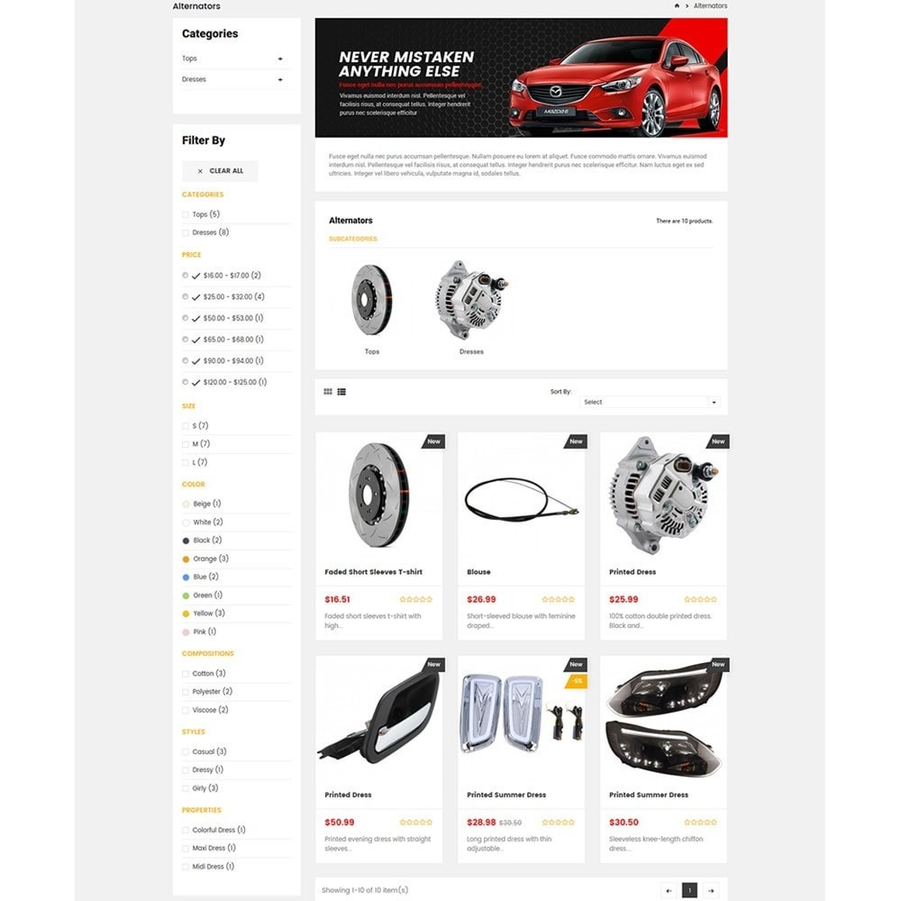 theme - Auto & Moto - Carpart Automobile Stores - 5