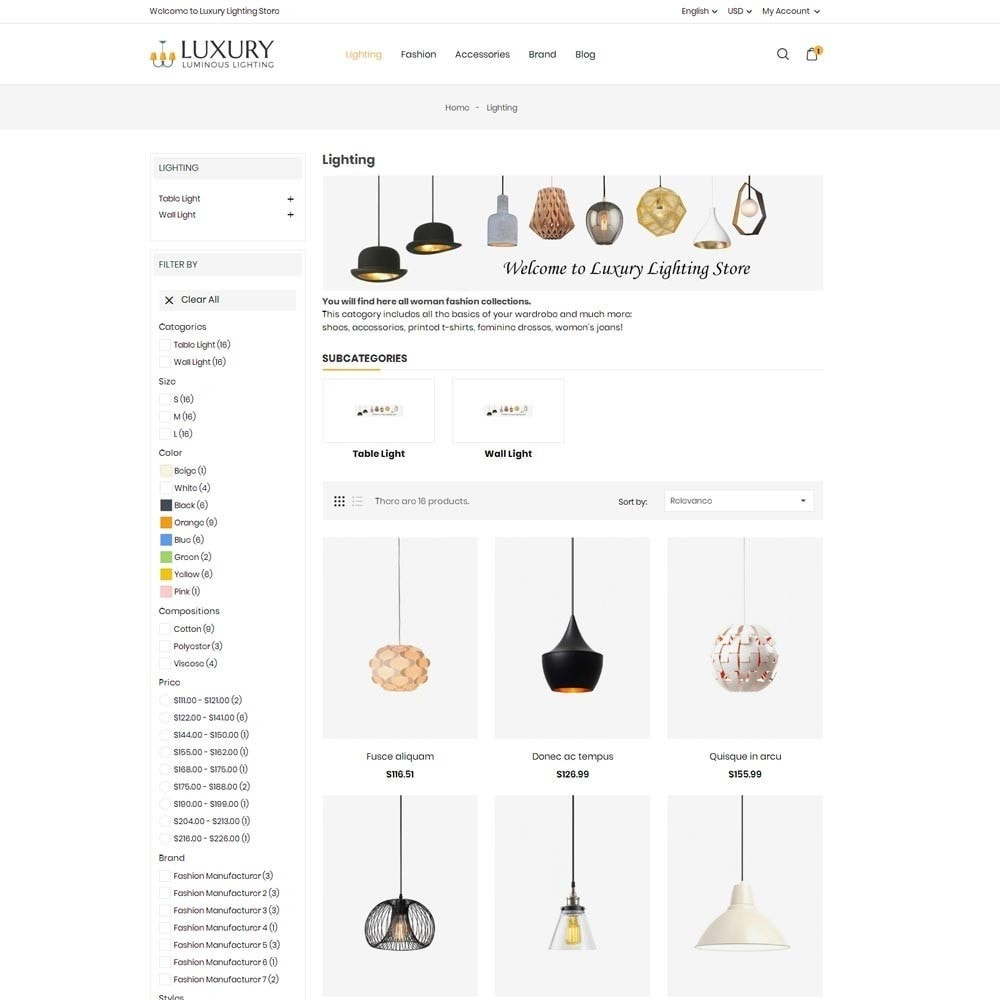theme - Dom & Ogród - Luxury Lighting Store - 5