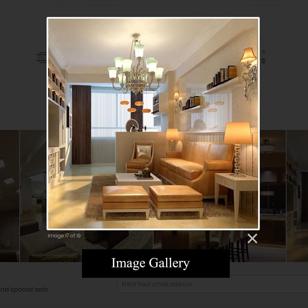 theme - Дом и сад - Luxury Lighting Store - 8