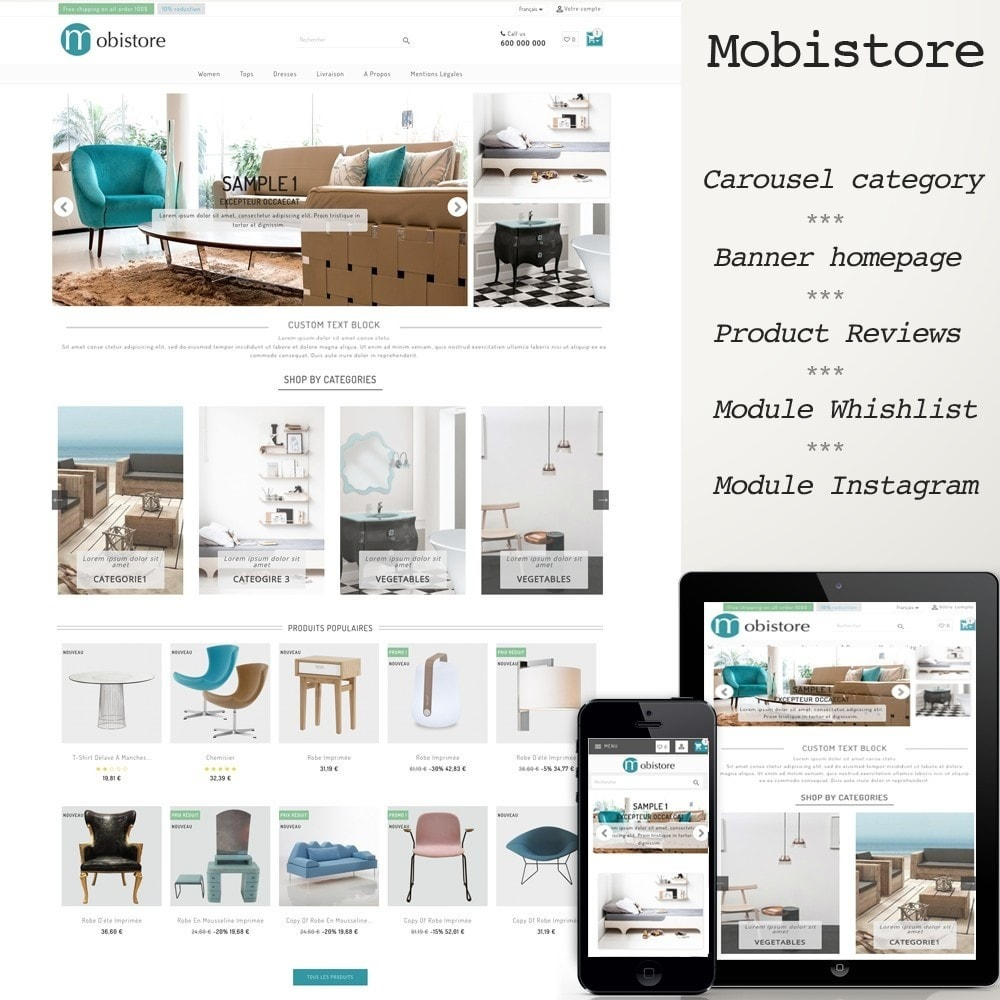 theme - Casa & Giardino - Mobistore - 1