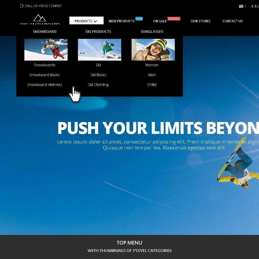 theme - Sports, Activities & Travel - Ski & Snowboard - Sport store - 2