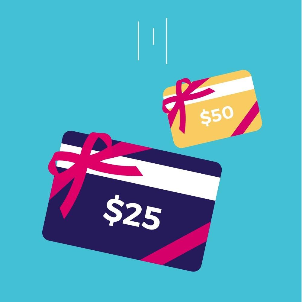 module - Список желаний и Подарочный купон - Premium Gift Card 1.7 - 1