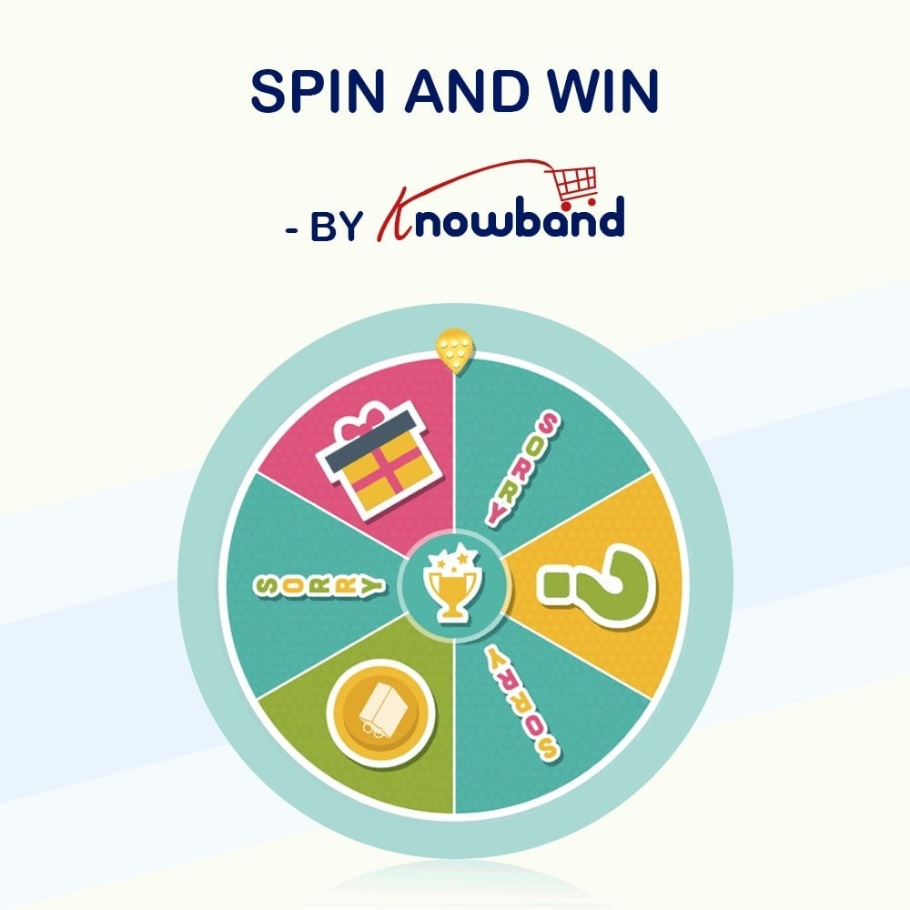 module - Promociones y Regalos - Knowband-Entry, Exit and Subscription Popup- Spin & Win - 1