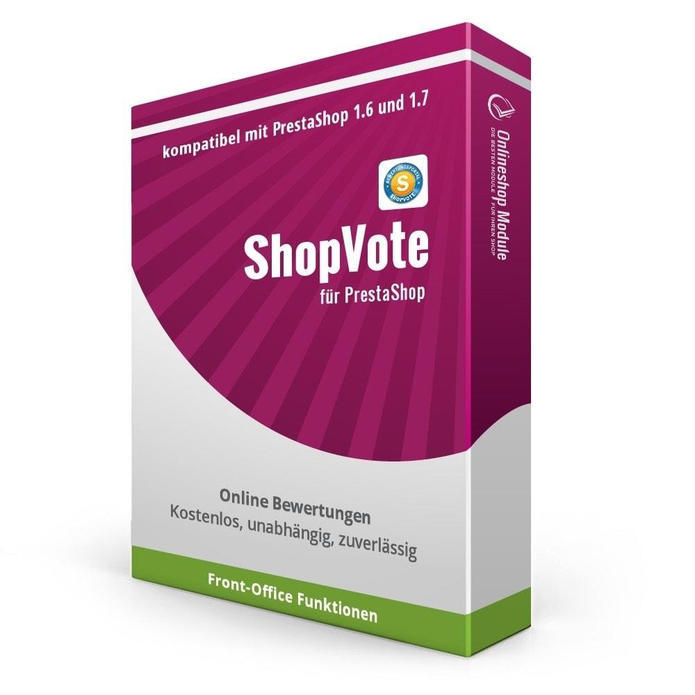 module - Recensioni clienti - ShopVote assessment module - 4