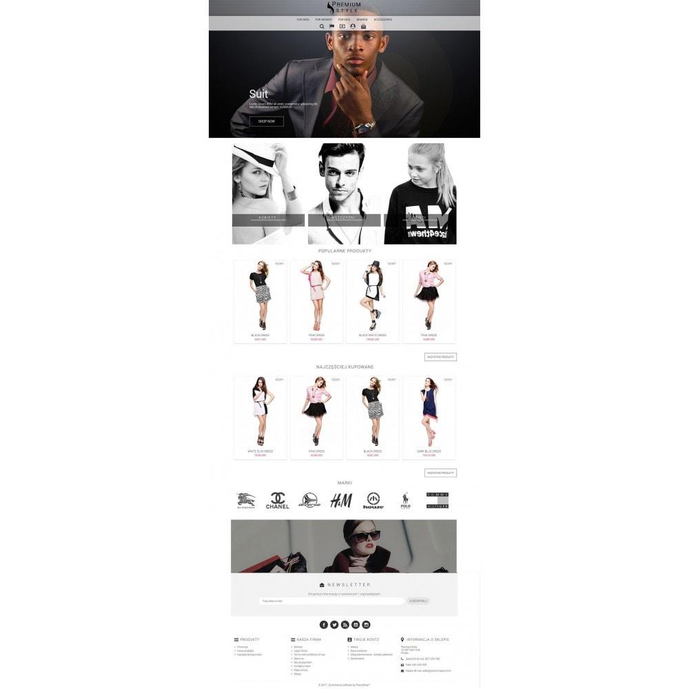 theme - Мода и обувь - Premium Style 3 in 1 - 3