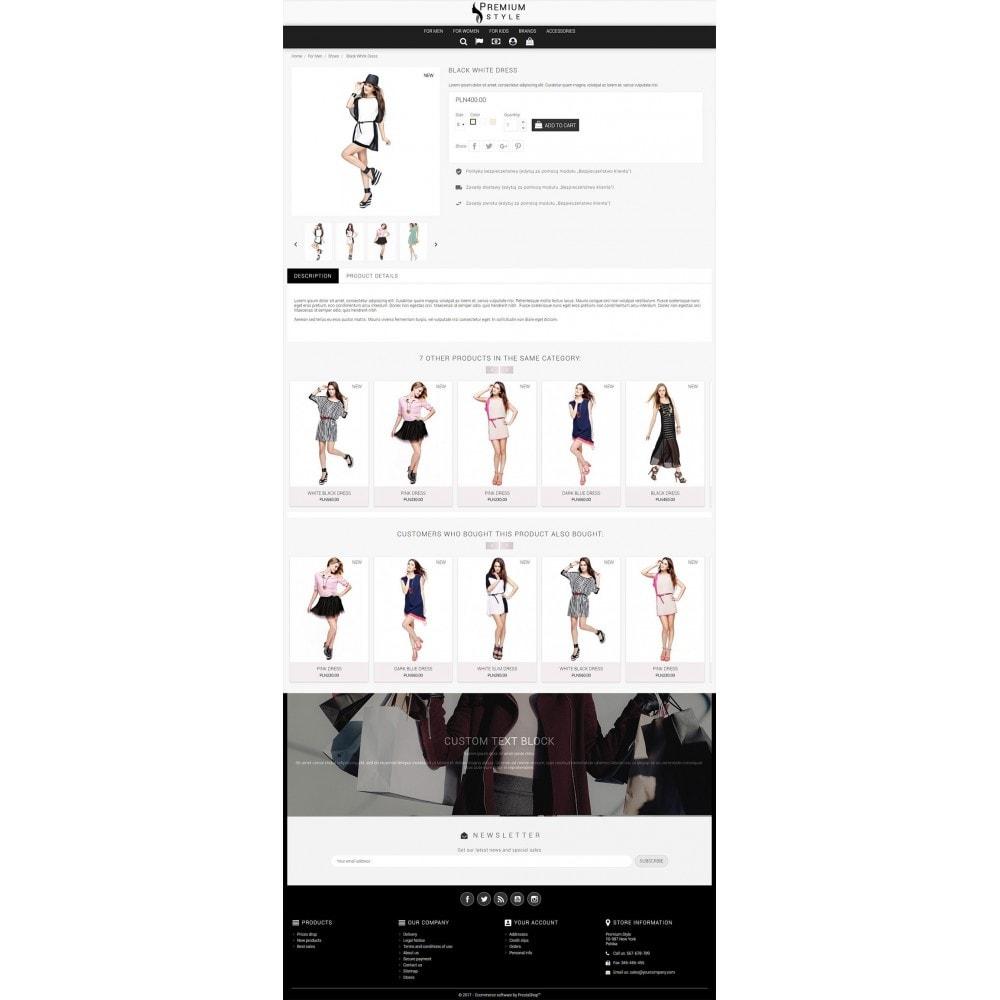 theme - Мода и обувь - Premium Style 3 in 1 - 5