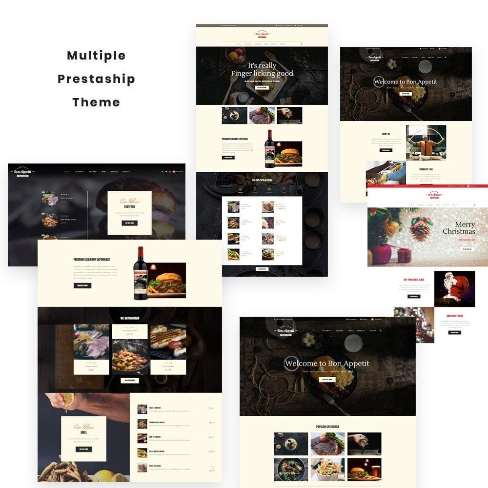 theme - Żywność & Restauracje - Leo Bon Appetit - 1