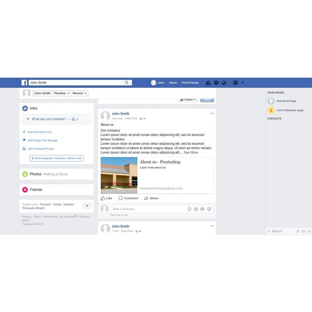 Auto Post Cms To Social Network