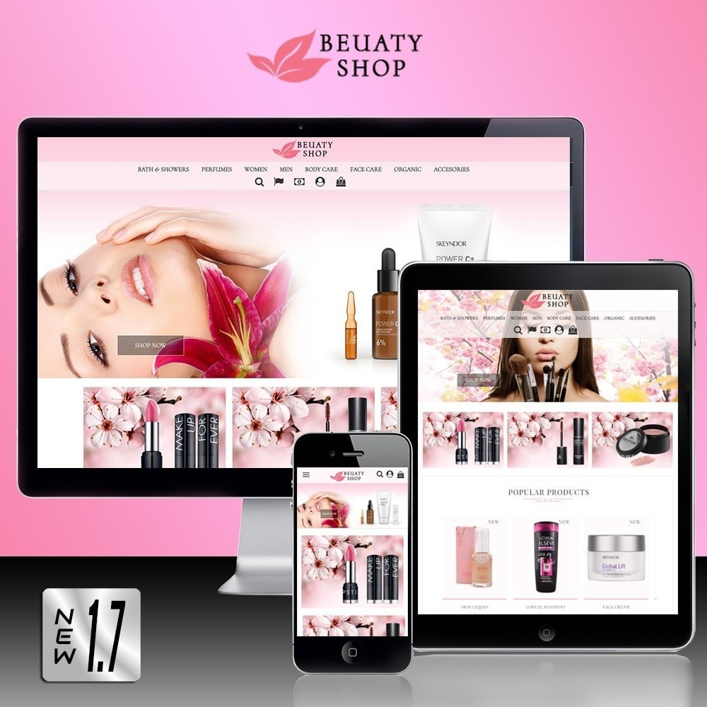 theme - Salute & Bellezza - Beauty Shop - 1
