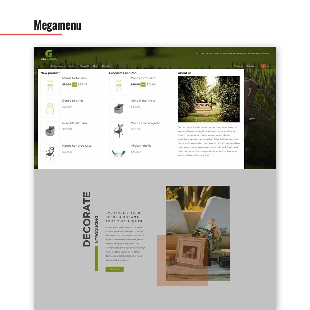 theme - Dom & Ogród - Leo Garden - 2