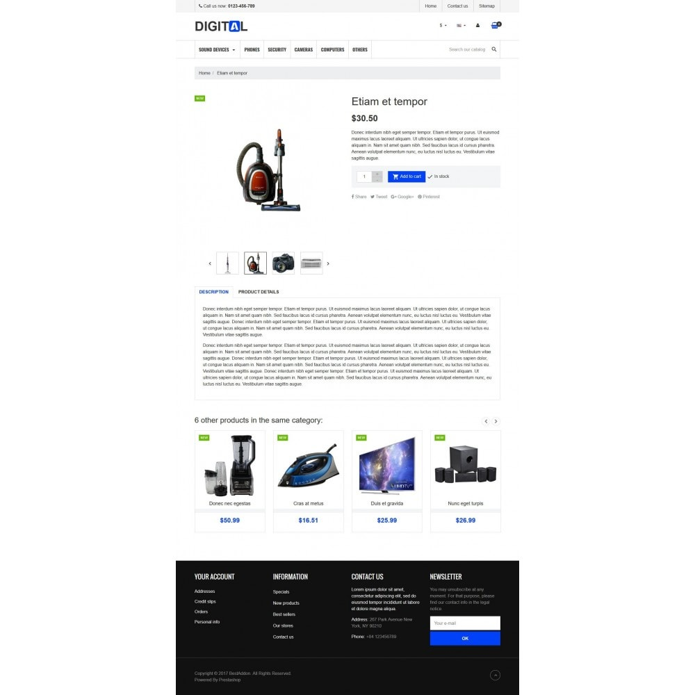 theme - Electronics & Computers - VP_Digitals Store - 4