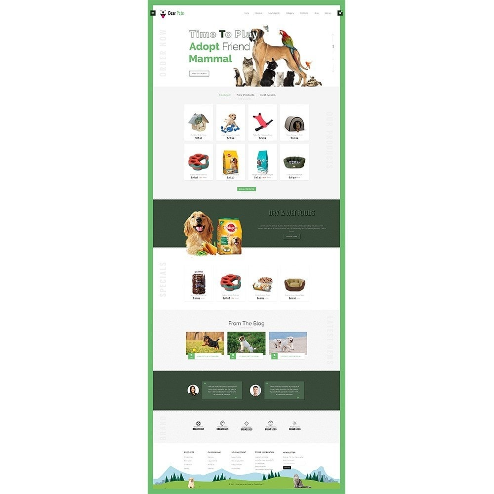 theme - Animaux - Dearpets Pet Store - 2