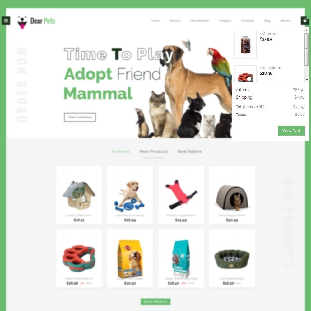 theme - Animaux - Dearpets Pet Store - 6