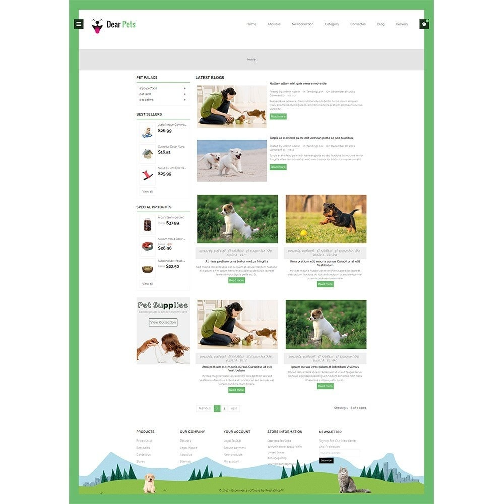 theme - Animaux - Dearpets Pet Store - 8