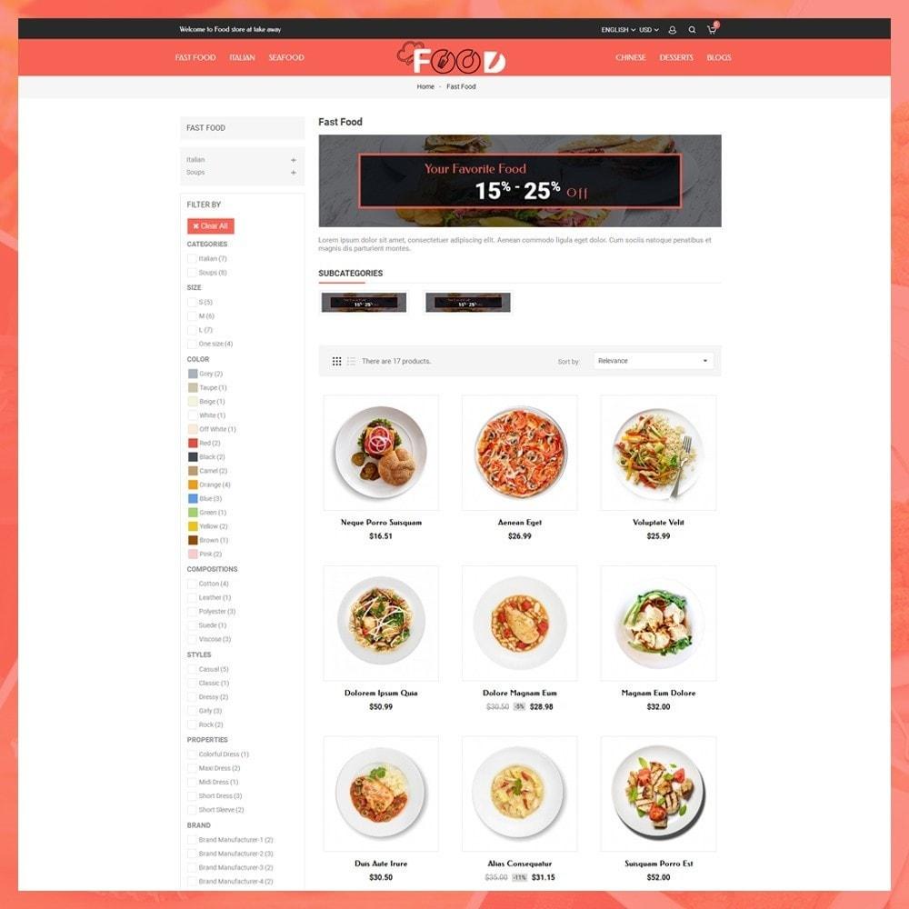 theme - Lebensmittel & Restaurants - Food Restro - 4