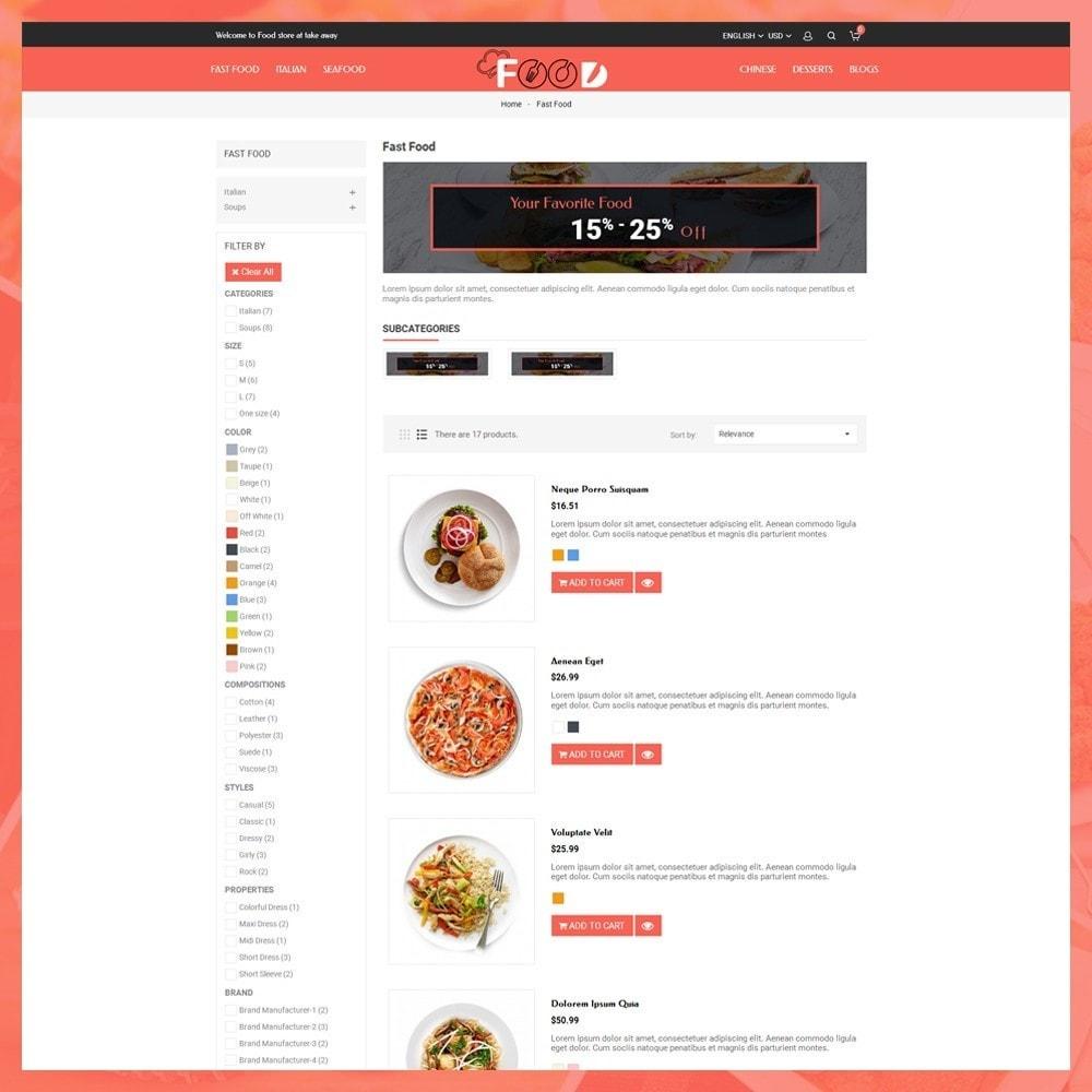 theme - Lebensmittel & Restaurants - Food Restro - 5
