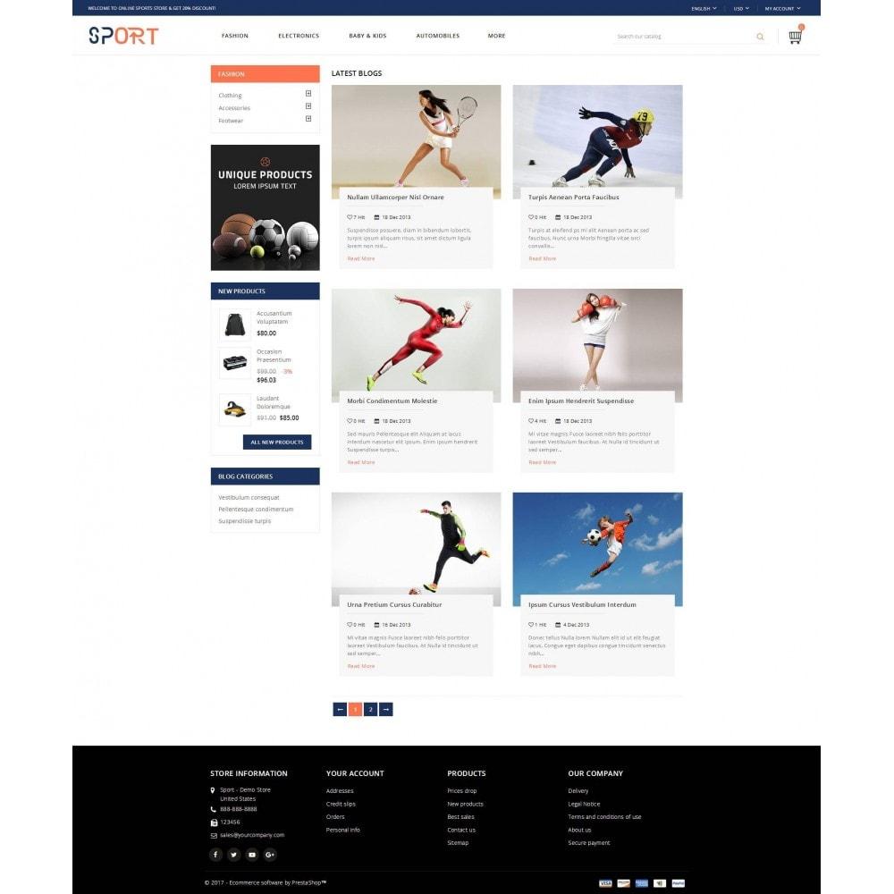 theme - Sport, Rozrywka & Podróże - Sports Store - 9