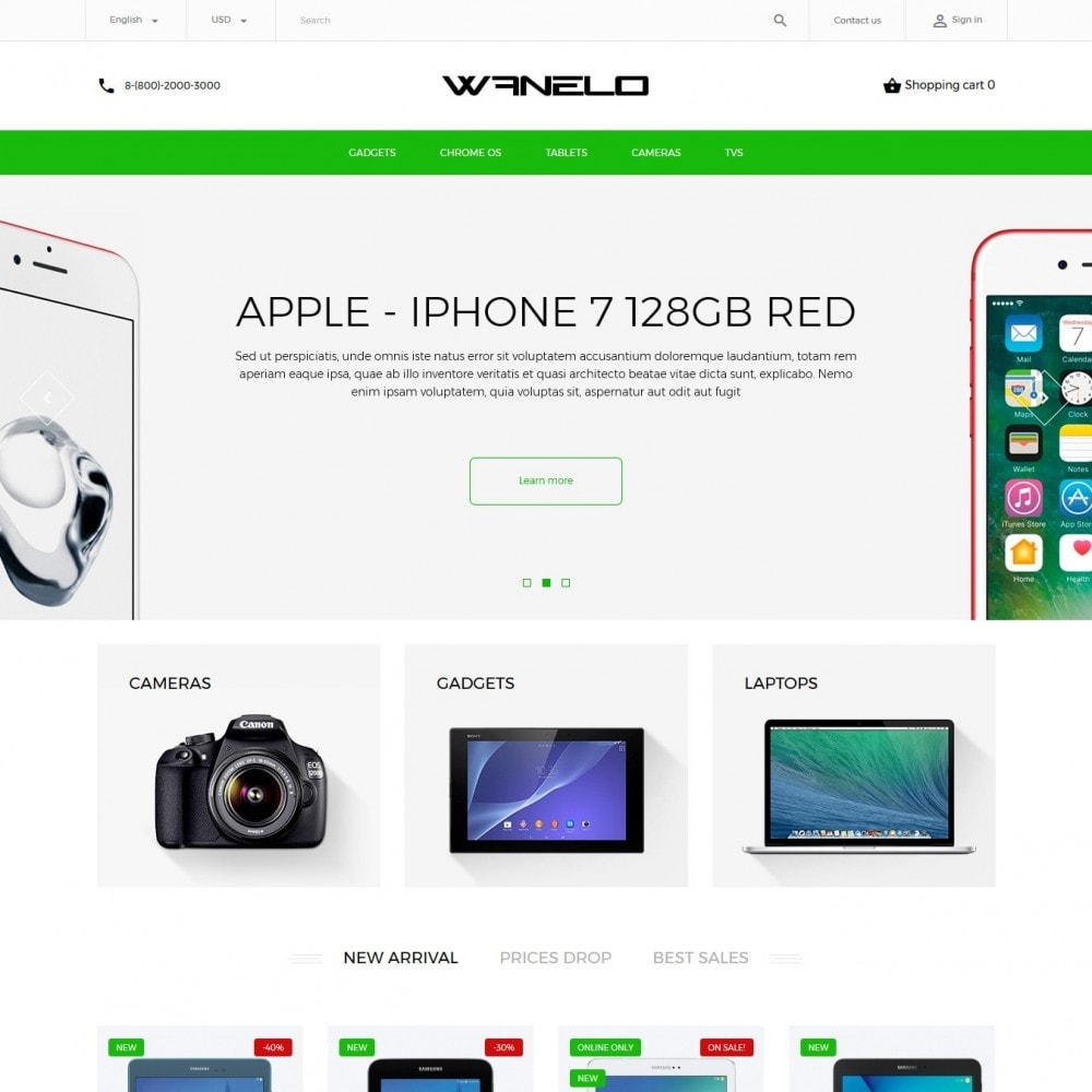 theme - Электроника и компьютеры - Wanelo - High-tech Shop - 2