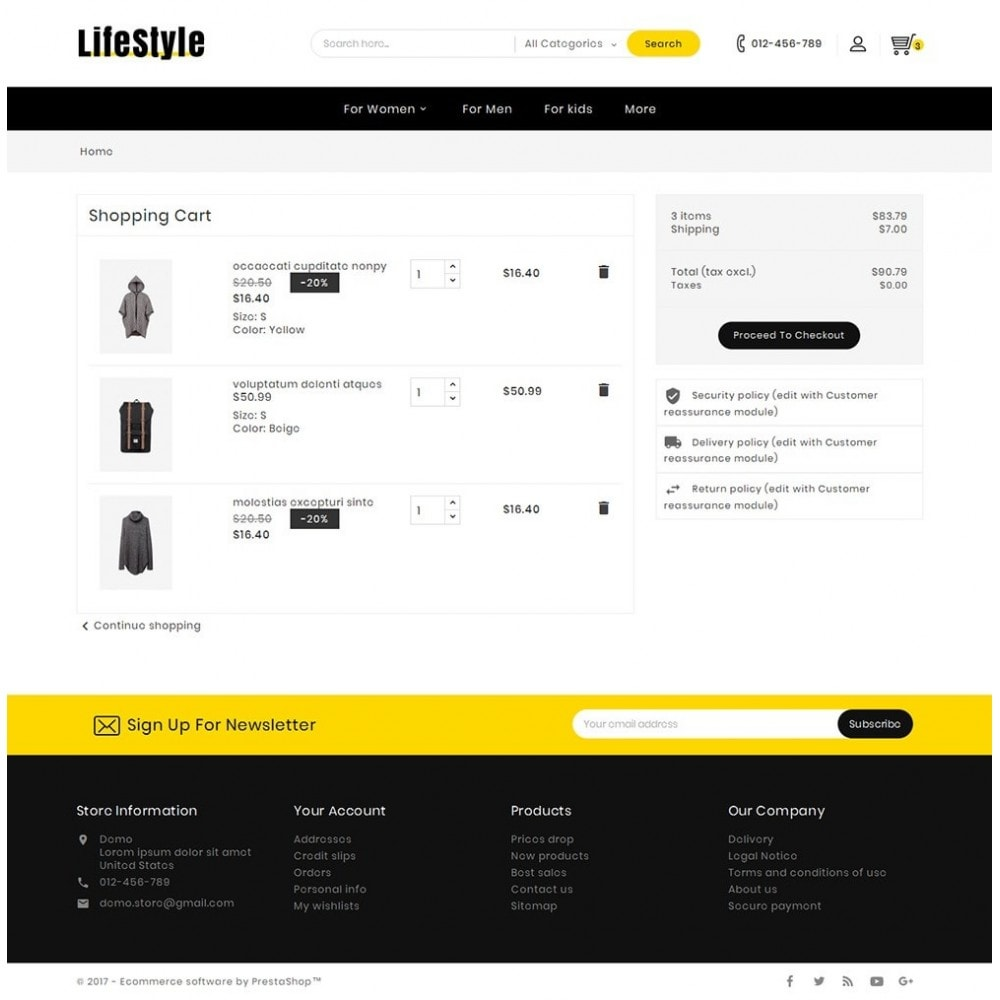 theme - Mode & Chaussures - Life Style Fashion Store - 6