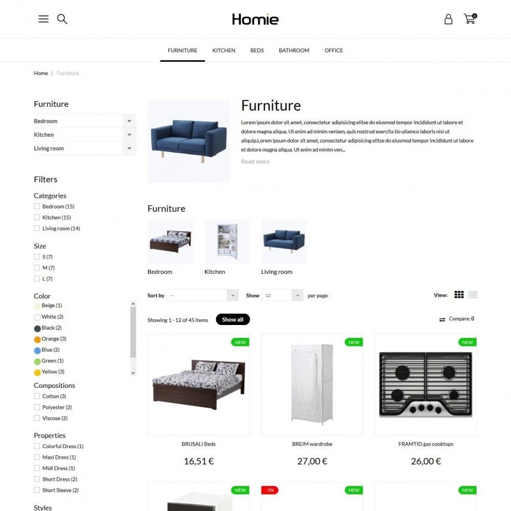 theme - Home & Garden - Homie - 5