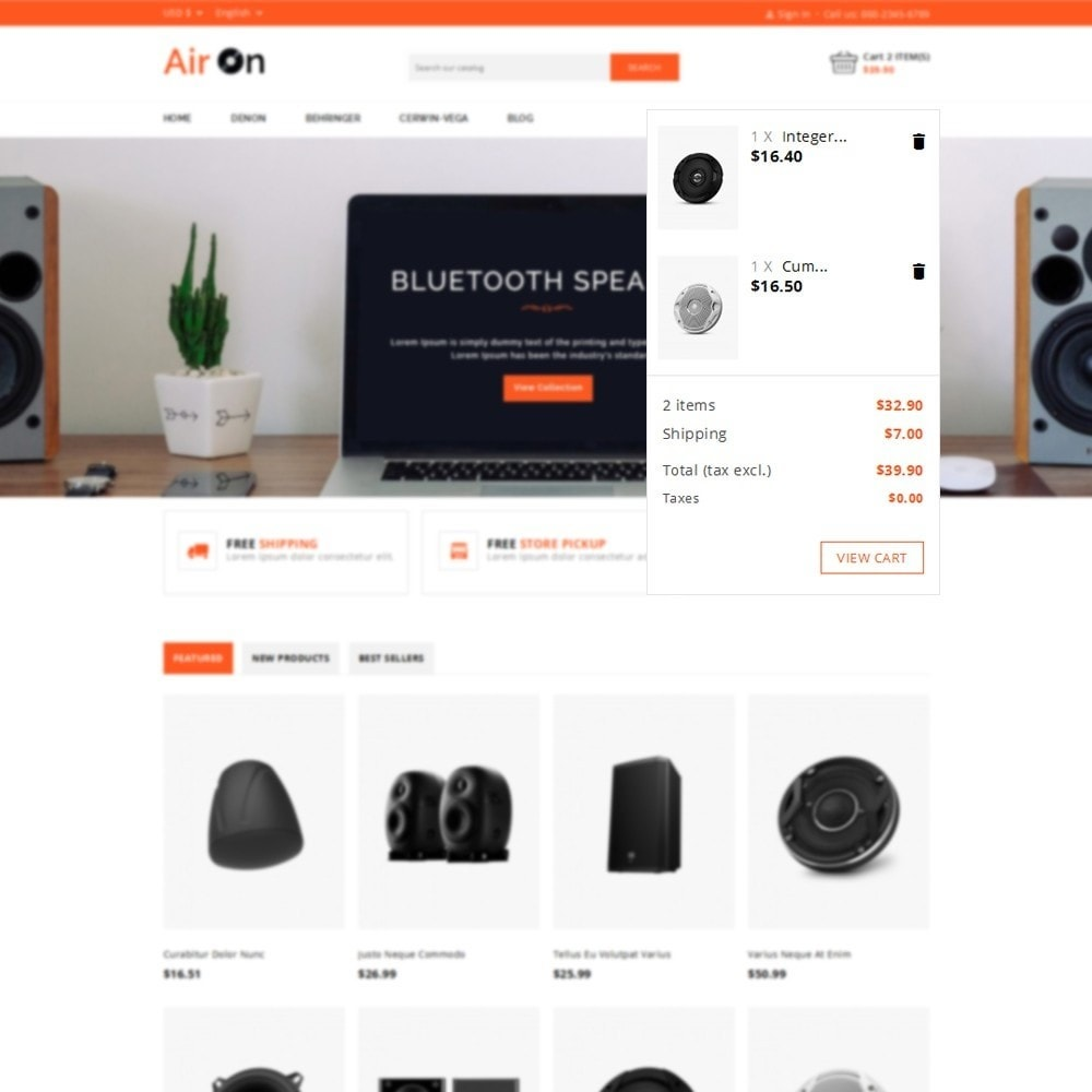 theme - Электроника и компьютеры - Airon Speakers Store - 6