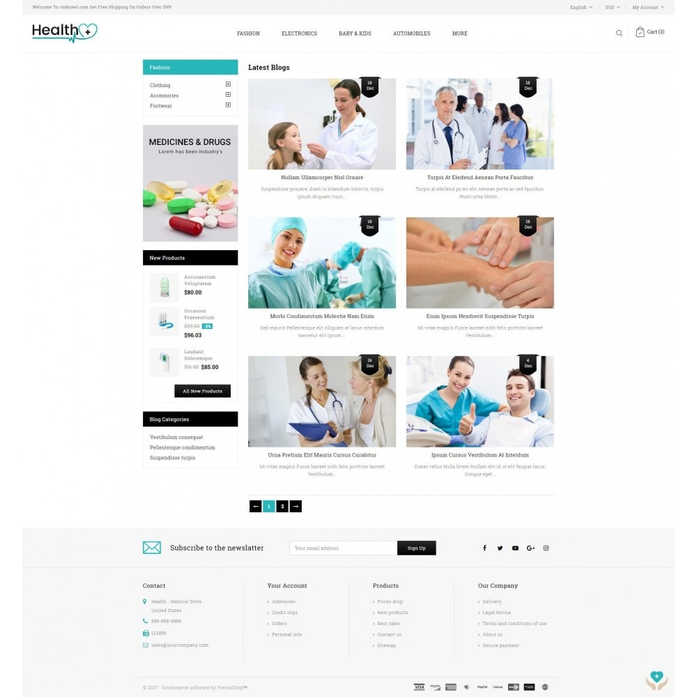 theme - Santé & Beauté - Health - Medical Store - 9