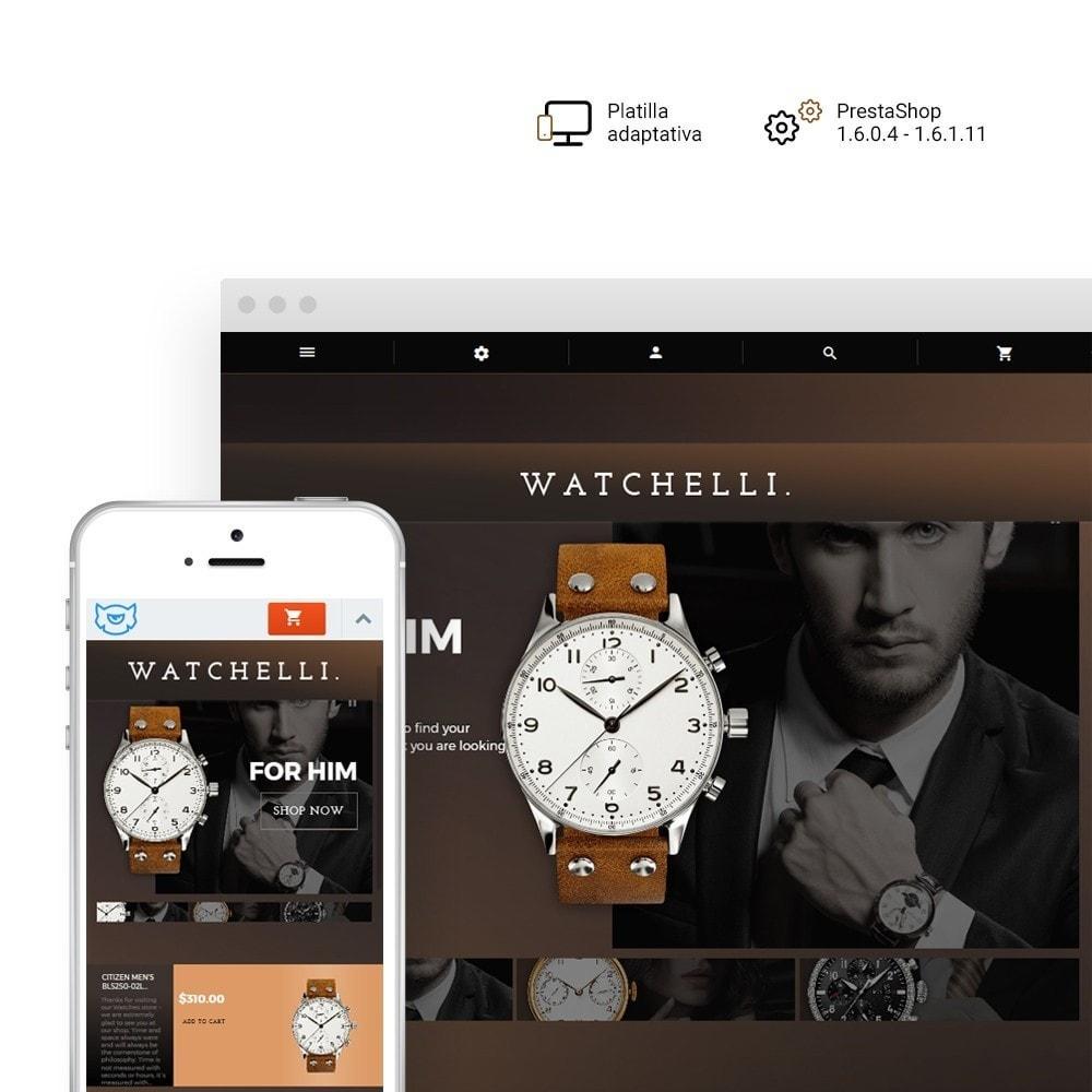 theme - Moda y Calzado - Watchelli - para Sitio de Relojes - 1