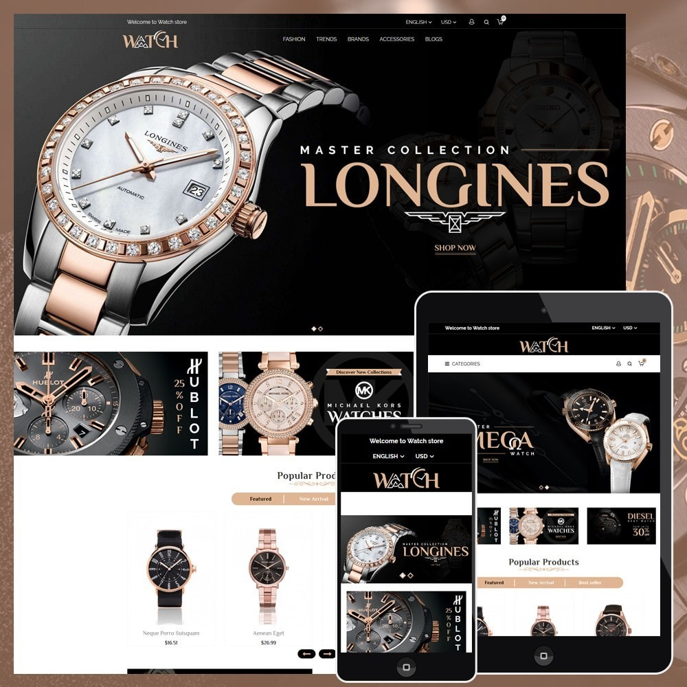 theme - Bijoux & Accessoires - Luxury Watch Shop - 1