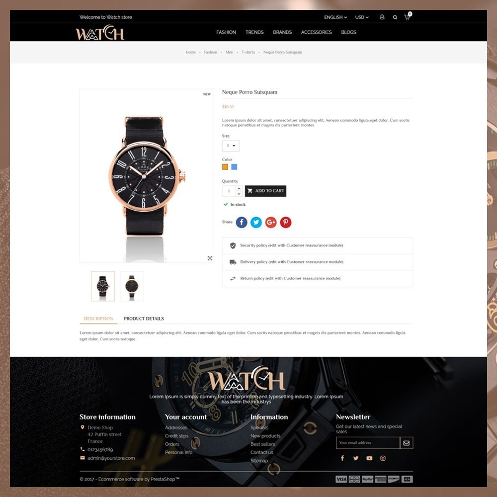theme - Bellezza & Gioielli - Luxury Watch Shop - 6