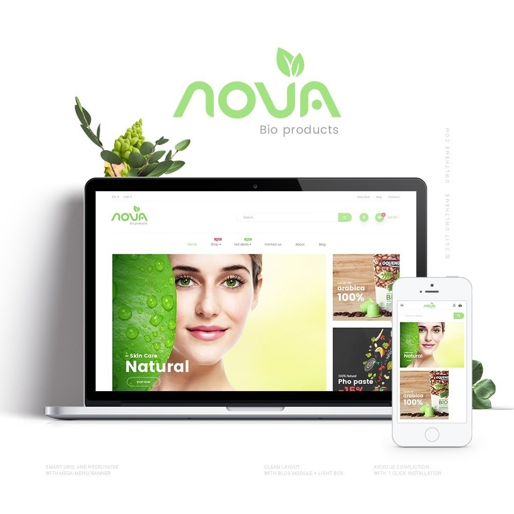 theme - Health & Beauty - Nova - Bio & Medical Store - 1