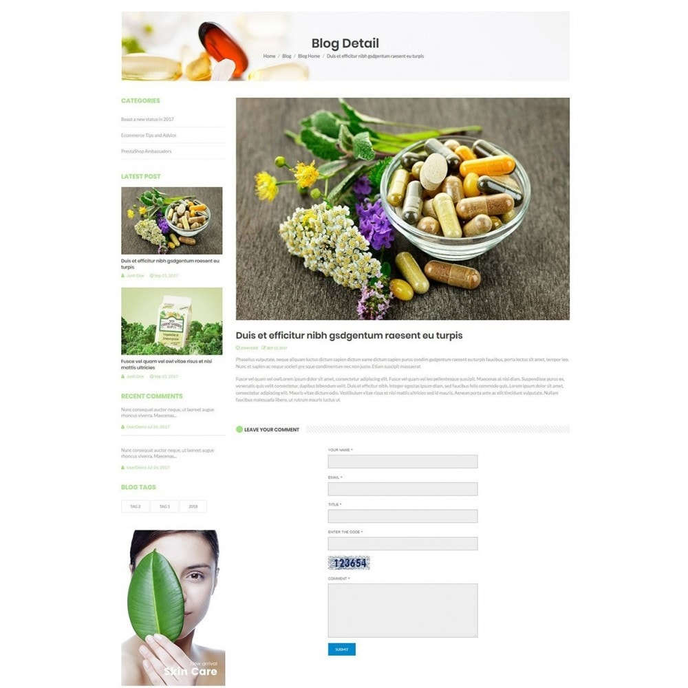 theme - Health & Beauty - Nova - Bio & Medical Store - 7