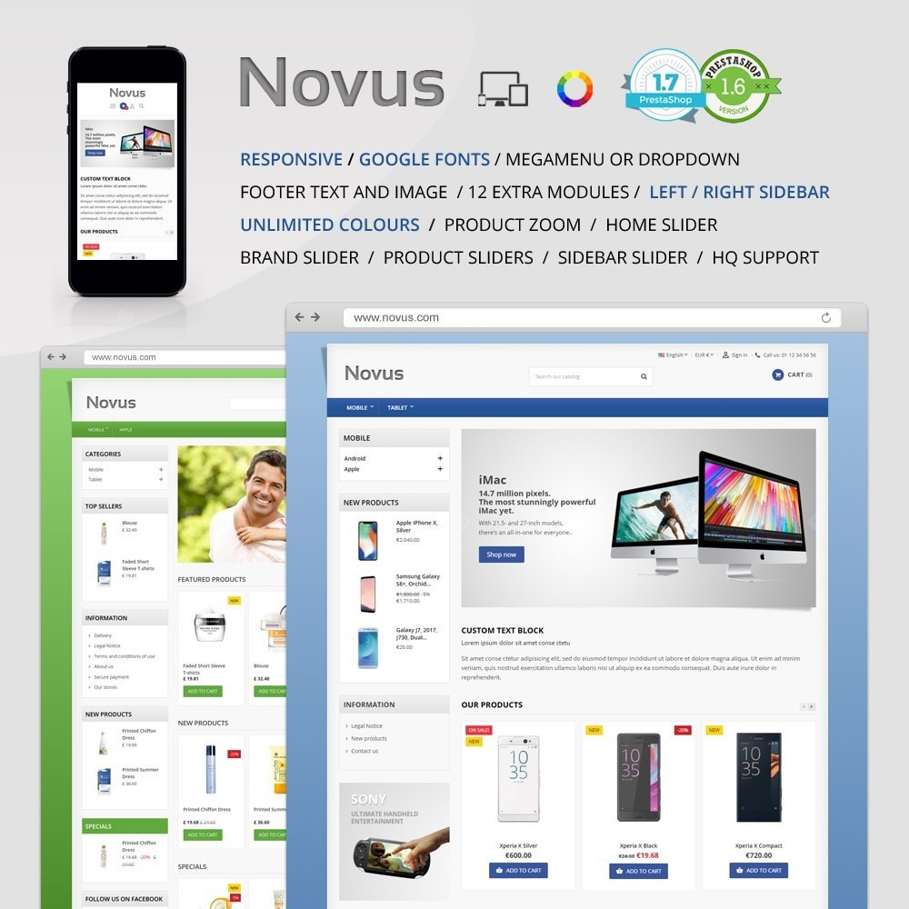 theme - Electronics & Computers - Novus - 1