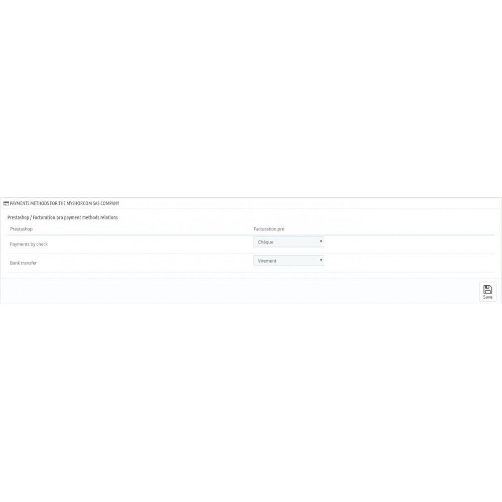 module - Datenabbindungen zu Drittsystemen (CRM, ERP, ...) - facturation.pro (Mon AE, Ma TPE) - 11