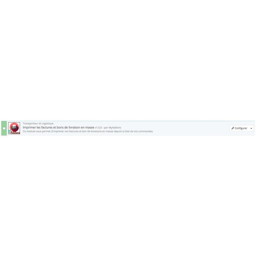 module - Comptabilité & Facturation - Impression factures et bons de livraison en masse - 2