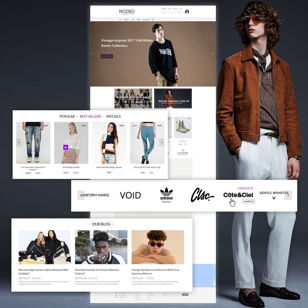 theme - Mode & Chaussures - Modno - Clothing and Fashion Store - 3