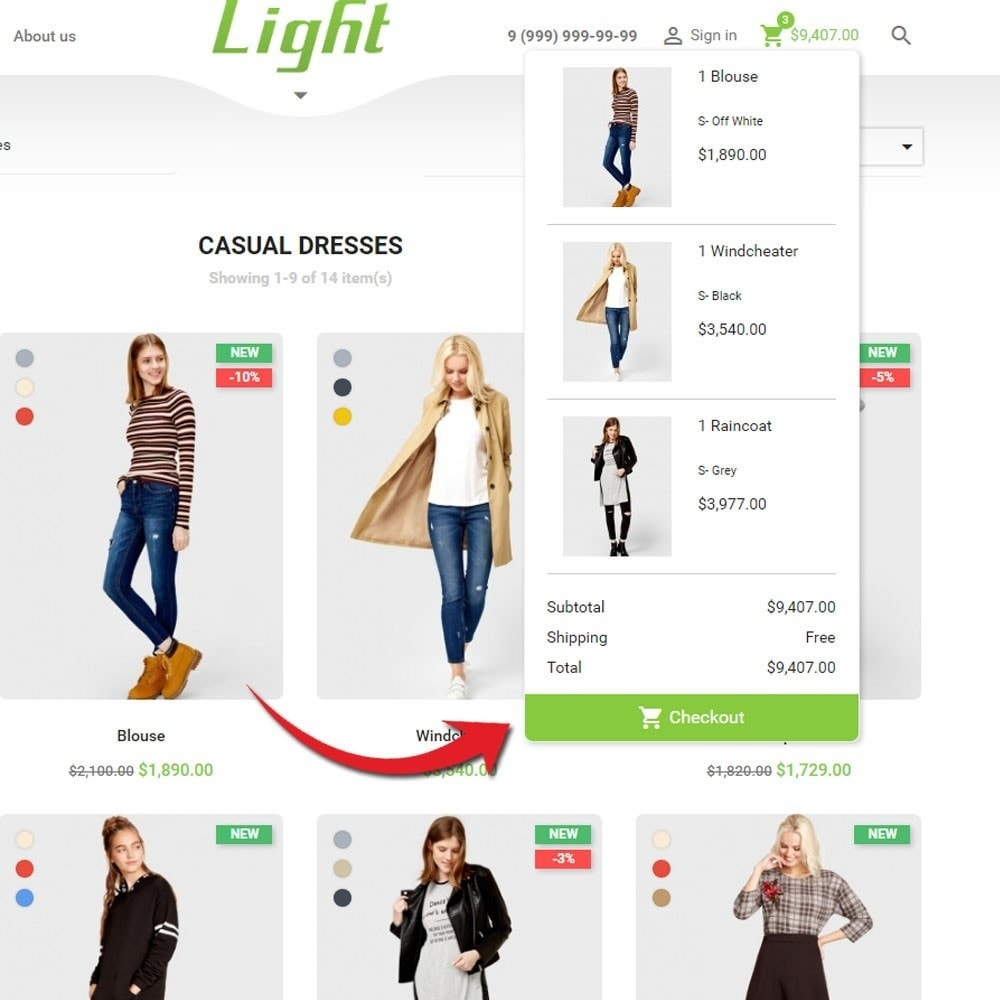 theme - Moda & Obuwie - Light Clothes Store - 7