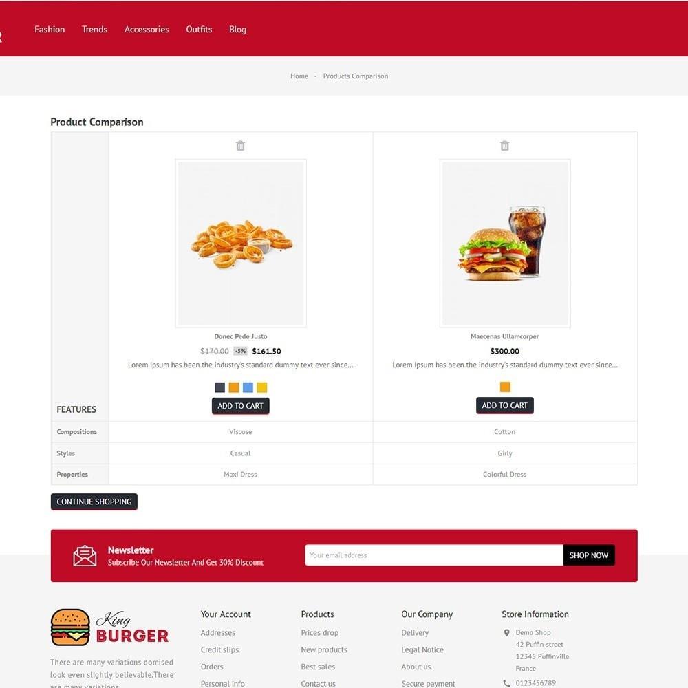theme - Cibo & Ristorazione - King Burger Store - 7