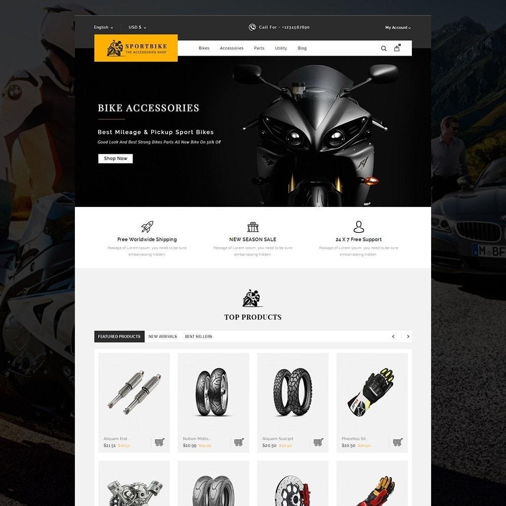 theme - Auto & Moto - Sports Bike Auto Store - 2