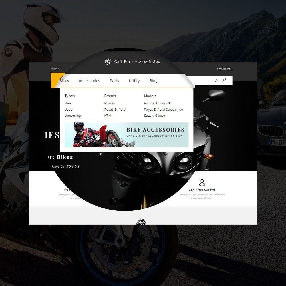 theme - Auto's & Motoren - Sports Bike Auto Store - 8