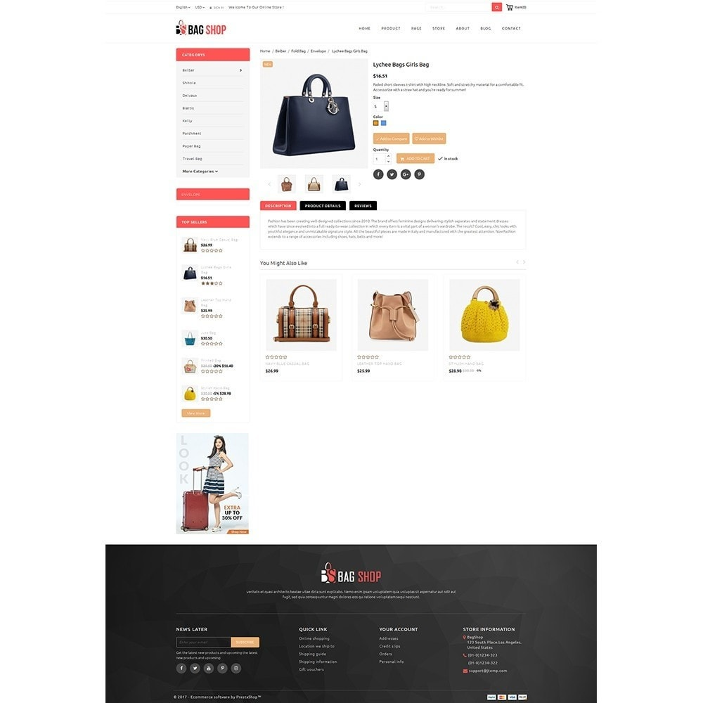 theme - Moda & Calzature - Bag Store - 5