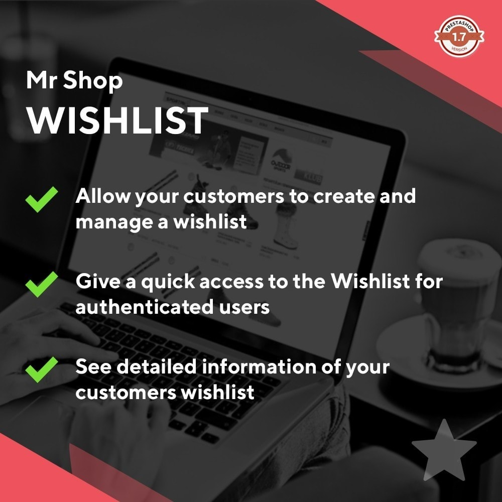 module - Wishlist & Gift Card - Mr Shop Wishlist - 1