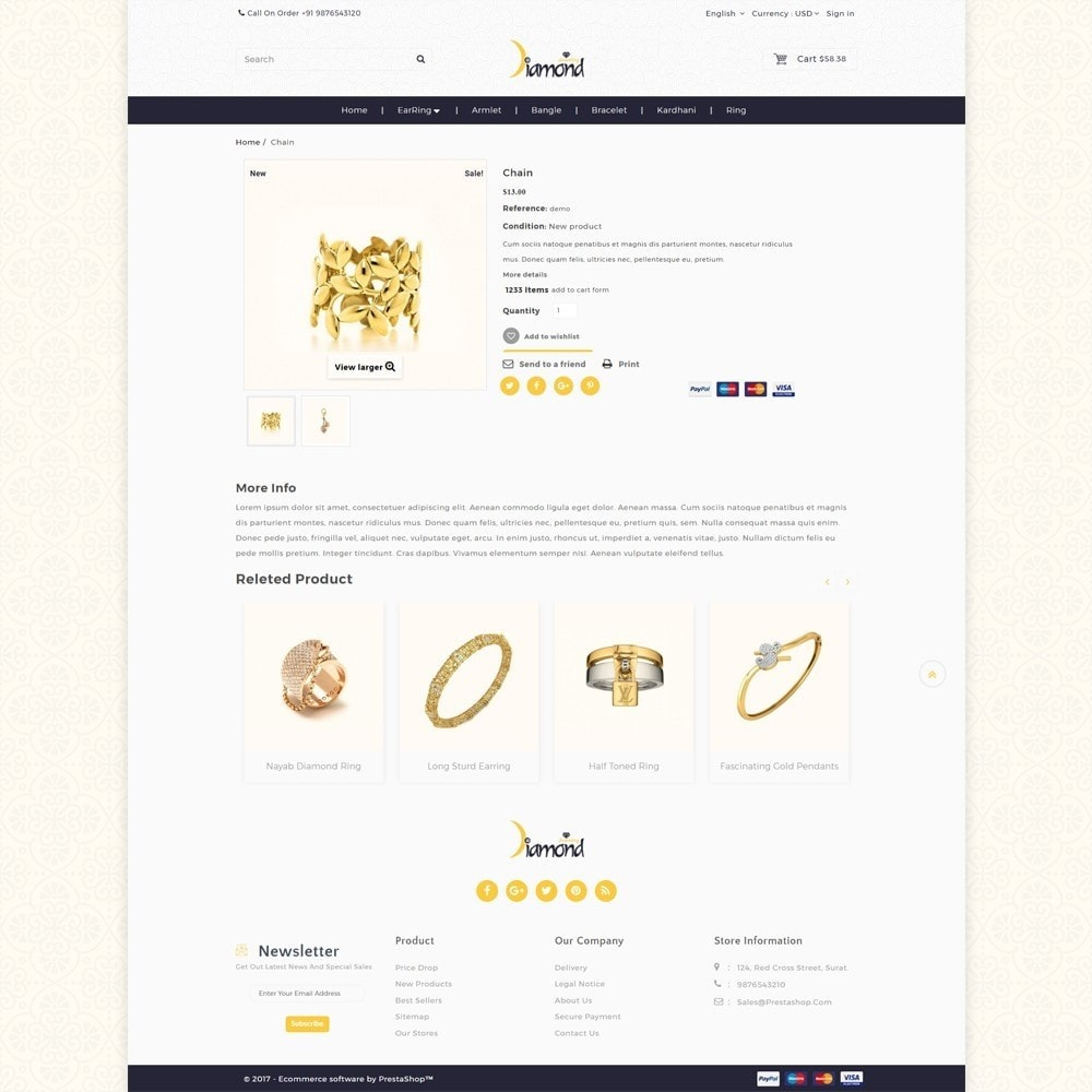 theme - Bellezza & Gioielli - Jewellery Shop - 5