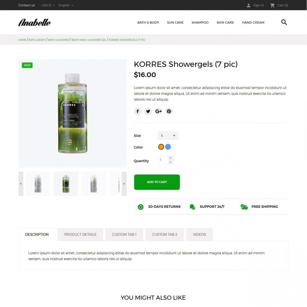 theme - Health & Beauty - Anabelle Cosmetics - 6
