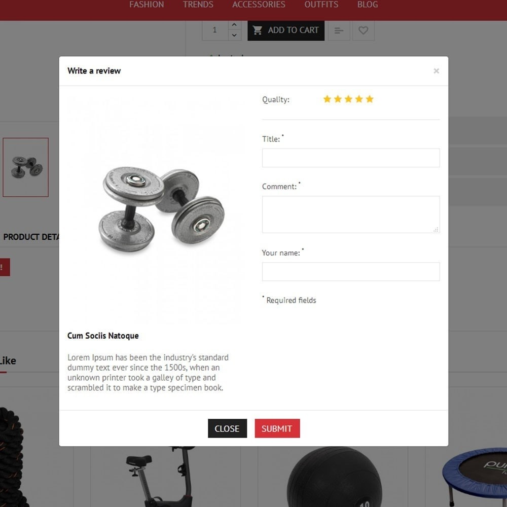 theme - Sport, Loisirs & Voyage - Fitness Store - 6