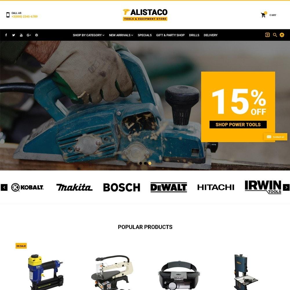 theme - Maison & Jardin - Alistaco - Magasin d'outils et d'équipements - 2